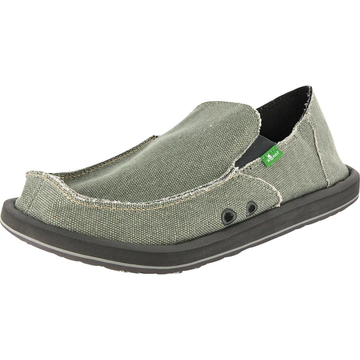 Sanuk Vagabond Shoe - Men's Grey, 10.0
