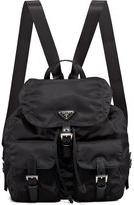 Prada Vela Backpack, Black