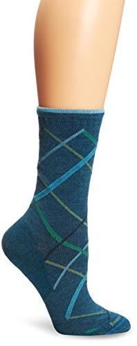 Sockwell Women's Vibe Socks, Teal, Small/Medium