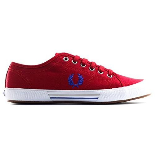 Fred Perry Men's Vintage Tennis Canvas Fashion Sneaker,
