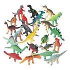 Vinyl Mini Assorted Dinosaurs Plastic Toys Play Set Figures