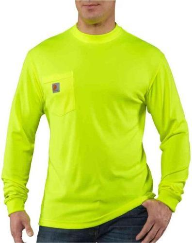 Carhartt Men's High Visibility Force Color Enhanced Long