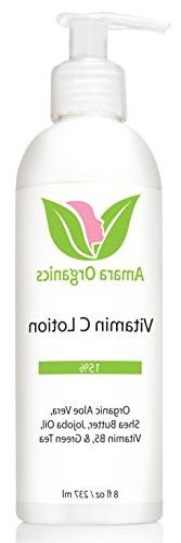 Amara Organics Vitamin C Face & Body Lotion 15% - With Shea