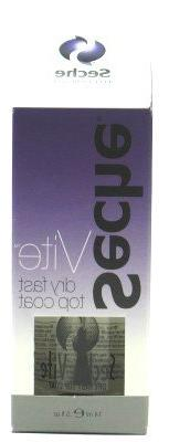 Seche Vite Dry Fast Top Coat .5 oz.  with Free Nail File