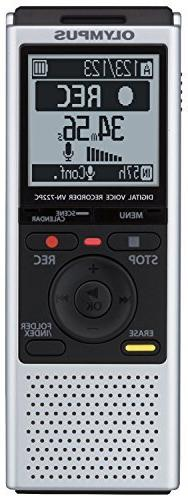 Olympus VN-722PC Voice Recorder with 4 GB Built-In-Memory