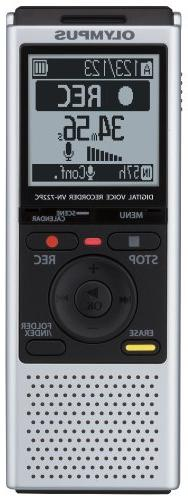 Olympus VN-722PC Voice Recorders, 4 GB Built-In-Memory
