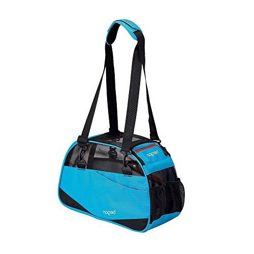 """Bergan Voyager Carrier Small Bright Blue 12"""" x 8"""" x 17"""