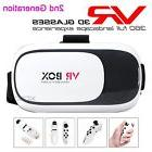 VR BOX 2.0 3D Headset Virtual Reality Glasses Bundled VR