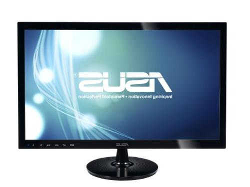 "ASUS VS248H-P 24"" Full HD 1920x1080 2ms HDMI DVI VGA Back-"