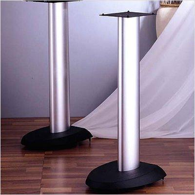 VSP Series Aluminum Speaker Stand in Black - Set of 2