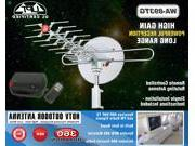 WA-893TG Rotating Outdoor Antenna - Low Noise Microwave