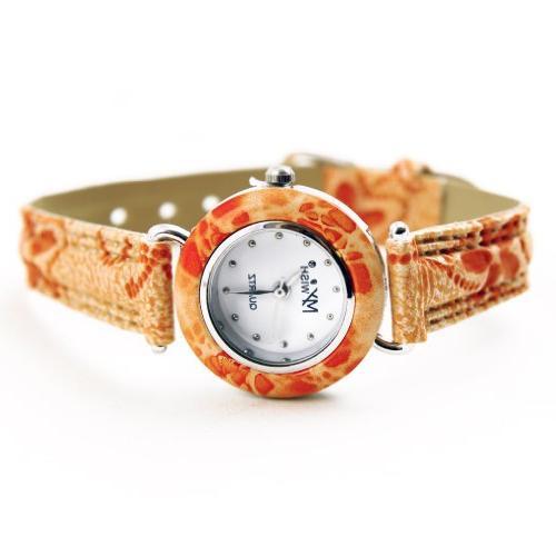 Nautica Watch Set, Men's Interchangeable Black and Orange