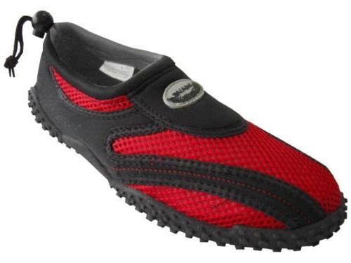 Sunville Women's Water Shoes Aqua Socks,7 B US,Black-2907