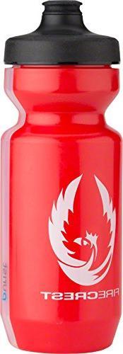 Zipp Water Bottle Purist Watergate Zipp Firecrest Red 22oz