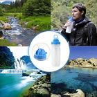 Water Purifier Filter Bottle for Hiking, Survival, Camping,