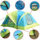 Waterproof 10 Person Camping Tent Outdoor Hiking Two Layer