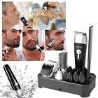 Waterproof Men Professional Hair Trimmer Beard Nose Ear