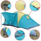 Waterproof 4-6 Person Camping Tent Family Outdoor Hiking