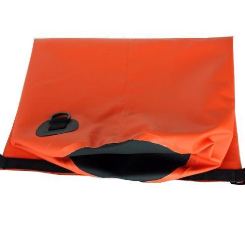 New Waterproof PVC Orange 15L Dry Bag for Boating, Kayaking