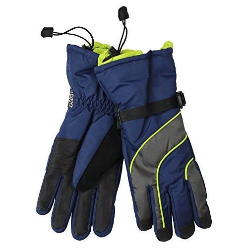Women's Waterproof / Thinsulate Lined Ski Glove Black, Large