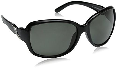 Weave Polarized Sunglass with Polycarbonate Lens, Tortoise