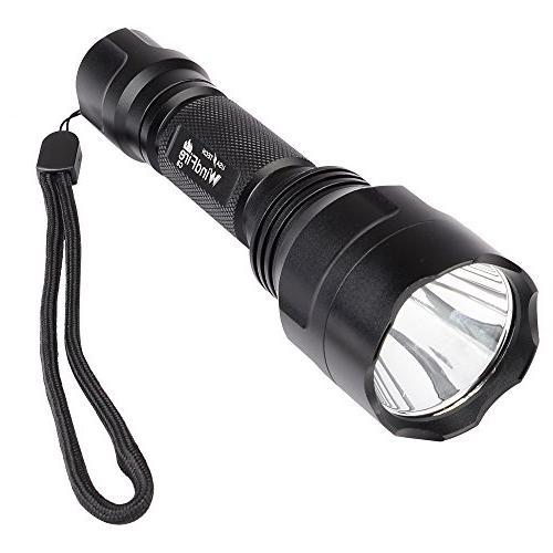 Ultrafire 1300Lm CREE XM-L T6 C8 LED Torch Flashlight +