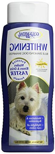 Gold Medal Pets Whitening Shampoo with Cardoplex for Dogs,