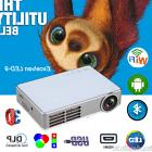 WiFi Android 4.4 1080P HD Projector Mini 3D DLP Home Theater