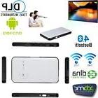 WiFi Mobile Cinema DLP Projector+Smart TV Box For IOS Android Phone PC O0V1