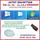 Windows 7  8.1 10  32   64 bit All in One USB