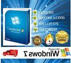 Windows 7 Professional 64 bit original full version DVD &