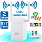 300Mbps Wireless-N WiFi Range Extender Repeater Signal