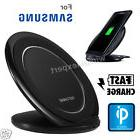 Wireless Qi Charging Pad Stand Dock Fast Charger For Samsung
