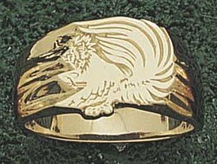 "Maryland Terrapins ""Terrapin M"" Men's Ring Size 10 1/2 -"