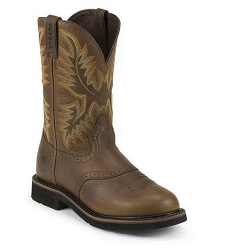 Men's JUSTIN BOOTS SUNSET COWHIDE BOOTS WK4655,9.5 EE US
