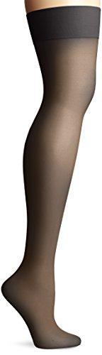 Via Spiga Women's Isabella Thigh High Stocking, Black, No