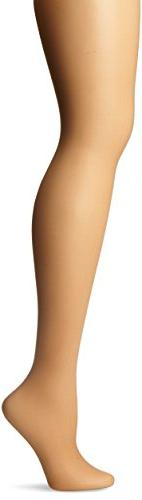 Women's Toned Skin Sheer Control Top Tight, Honey, B