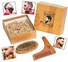 24 HOUR SALE Premium Mens Wooden Beard Shaping or Shaper -