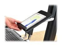"Ergotron Work Fit-S Tablet/Document Holder, 7 1/4"" x 1 1/2"""
