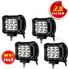 "4X 18W 4"" LED Work Light Bar Spot Beam Offroad 4WD UTE SUV"