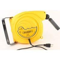 50 Foot Work Light Hand Lamp With Cord Tackle Retractable