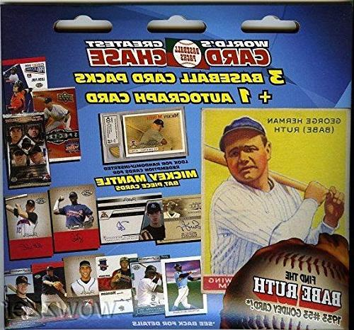 Tristar World Greatest Baseball Card Chase Factory Sealed