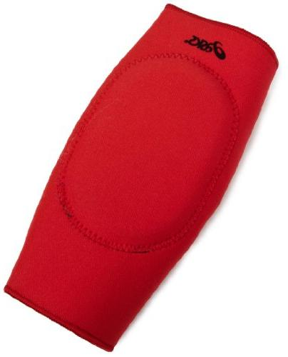 ASICS Unisex Wrestling Knee Pad, Red/Royal, X-Large