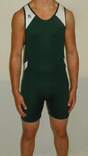 Russell Athletic Men's Wrestling Sprinter Singlet Suit Lg