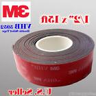 "3M 1/2"" x 15 ft  VHB Double Sided Foam Adhesive Tape 5952"