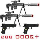 X2 BLACK OPS PACKAGE LOT 4 AIRSOFT GUNS SPRING SNIPER RIFLE