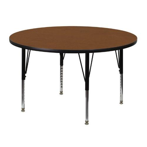 Flash Furniture Round Activity Table in Gray-25.25