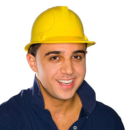 US Toy Construction Party Hard Hat  yellow