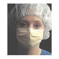 High Performance Yellow Isolation Masks, Case of 500