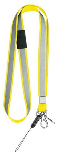 Sonic yellow reflective safety strap SG-279-Y